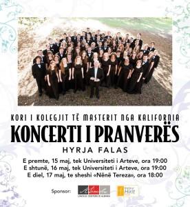 Koncerti i pranveres -sponsor Lincoln Center