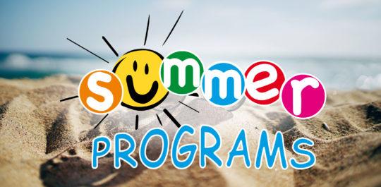 Summer programms 2018